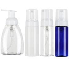 Bath Supplies Plastic Soap Dispenser Clear Foaming Bottle Liquid Pump Container