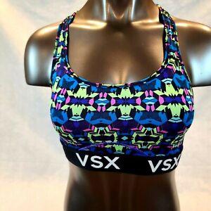 VSX Sport Victoria's Secret S/P Multi Color Pullover  Light Weight Sports Bra