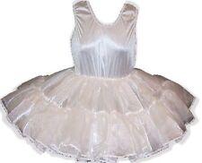 CUSTOM FIT Full Slip Crinoline Petticoat for Adult LG Baby Sissy Dress up LEANNE