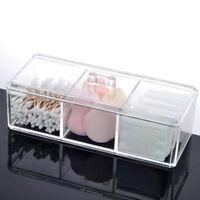 Clear Acrylic Cosmetic Organizer Makeup Case Jewelry Storage Holder / Box