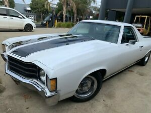 1972 CHEVROLET EL CAMINO 350 V8 AUTO POWER STEER AND AIR CONDITIONING, AWESOME!!