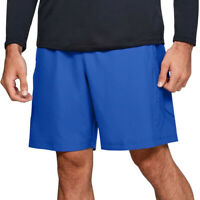 Under Armour Ua Hommes Heatgear Graphique Bleu Tissé Hommes SPORTS Gym Short / L