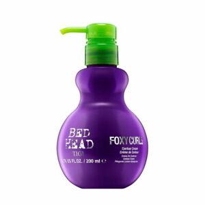 TIGI Bed Head Foxy Curls Contour Cream for Waves and Curls 200 ml (6.76 fl oz)