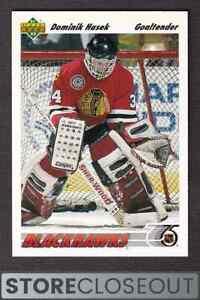 1991-92 Upper Deck #335 Dominik Hasek Rookie RC Chicago blackhawks