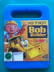 RARE ABC For Kids My First Bob The Builder With Scoop dvd + Free Post
