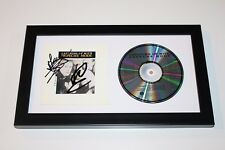 DEPECHE MODE MARTIN GORE ANDY BAND SIGNED FRAMED CATCHING UP WITH CD COVER W/COA