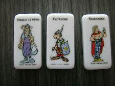 3 DOMINOS FAITEXCUS PROLIX TRAGICOMIX ASTERIX DOMINO MANIA NEUFS