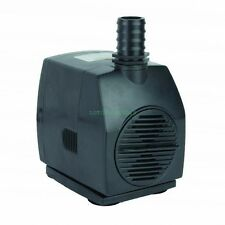 530 GPH Submersible Fountain Waterfall Water Pump w/ Grounded US 3-prong AC Plug