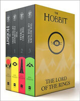 J. R. R. Tolkien The Lord Of The Rings The Hobbit 4 Books Collection Set
