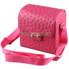 Leather Camera Lens Case Shoulder Bag for Sony NEX6 NEX7 NEX3N NEX-5R 5T 5N F3