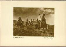 Rodman Wanamaker Native American Gravure, First Edition, 1913