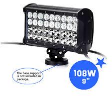 """AMO LED New 9"""" Inch 108W Working Lights Off road Flood Light Lamp 10-30V 12V 24V"""