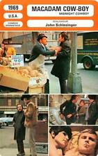 FICHE CINEMA : MACADAM COW BOY (mod.B) - Hoffman,Voight 1969 Midnight Cowboy
