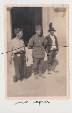 Old Poland Photo Original WWII Gypsy Man and Polish Soldiers Under Arrest