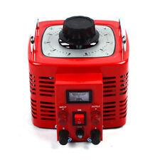 110v Transformer Variac Adjustable Ac Voltage Regulator Metered 3000w 30amp Auto