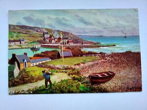 Portpatrick Scotland Vintage colour Postcard 1907
