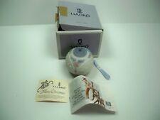Lladro 1991 Christmas Ball Bell #5829 in Original Box w/ paperwork & New Ribbon