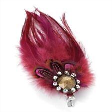 Accessoires de coiffure pinces à cheveux rouges pour femme
