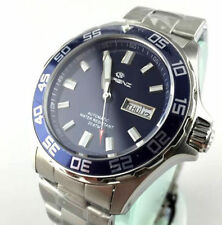 WATCH LORENZ AUTOMATICO DIVER PRO SUB 200 BLUE DIAL 017695AA - NEW (LIST. € 419)