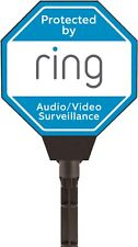 Ring Solar Security Sign Audio Video Surveillance Home Protection Door Warning