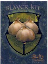 Buffy TVS Season 1 Chase Card Slayer Kit S4  Garlic