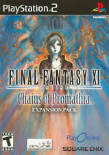 Final Fantasy XI: Chains of Promathia Expansion Pack PS2 New Playstation 2