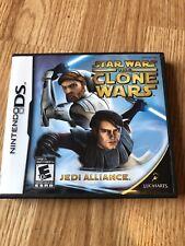 Star Wars: The Clone Wars -- Jedi Alliance (Nintendo DS, 2008) Works VC2