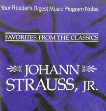 Reader's Digest, Johann Strauss Jr, Favorites From The Classics 2 CDs Box Set
