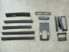 SET CARBON Dekorleisten Audi A6 S6 4B Automatik Zierleisten Verkleidungen