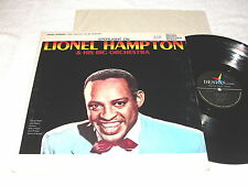 "Lionel Hampton ""Spotlight On..."" 1962 Jazz LP, VG, Mono, On Design"