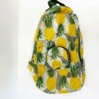 PAKit To Me Womens Packable backpack Purse Pouch Pineapple Print Lightweight