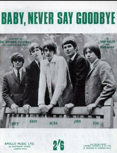 Baby, never say goodbye - Song - Featuring bo street runners