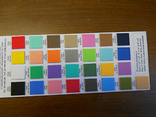 """6 sticky back Foam 9""""x12""""x2mm; pick your colors from 28 available colors."""