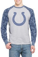 Indianapolis Colts Stealth Camo Pullover Shirt - 47 Brand - Large
