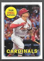 TYLER O'NEILL 2018 Topps Heritage High Number SP ACTION Variation #612 CARDINALS