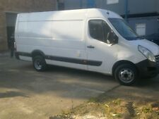 renault master van twin wheel LWB