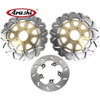 For SUZUKI SV1000 2003 - 2007 2006 SV 1000 Brake System Front Rear Disc Rotors