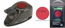 "EK Paper Shapers 1"" CIRCLE PUNCH ~NEW in Case ~Nesting Punch FREE SHIP EZY 2 USE"