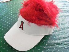 L.A. Angels Baseball, Kole Calhoun Red Hair Visor Cap w/tags
