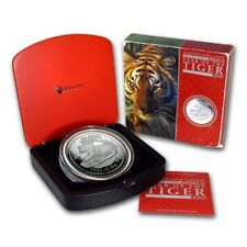2010 Year of Tiger 1kg Kilo Silver Proof Coin - Australia Lunar Series II 2