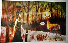 """NEW Alice Madness Returns """"Wake Up Alice"""" Signed Auto Lithograph Print ?/500"""
