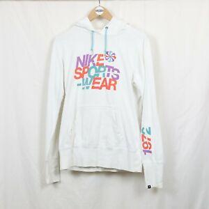 Nike Sportswear Pinwheel Women's 2003 White Hoodie L