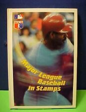 1988 MLB Major League Baseball in Stamps Grenada bk + sheetlet Jackie Robinson