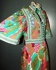 ALMATRICHI ROBE DRESS FOLK  BRODERIES TROPICAL 38