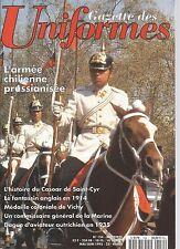 UNIFORMES N°154 ARMEE CHILIENNE PRUSSIANISEE/CASOAR DE ST CYR/FANTASSIN ANGLAIS