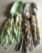 1 x WOMEN'S LADIES FASHION SOFT POLYESTER PATTERNED SCARVES