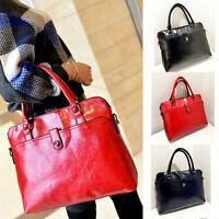 Women's PU Leather Handbag Shoulder Bags Tote Purse Ladies Messenger Fashion Bag