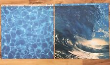 2 Sheets 12x12 Scrapbook Paper Water Surf Ocean Pool Vitality Reminisce ELE-000