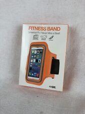 GEMS Fitness Arm Band Armband iPod Universal Fit Key Holder Orange