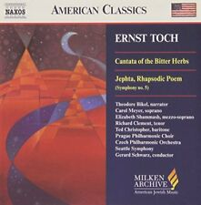 Czech Philharmonic Orchestra - Toch - Cantata of Bitter Herbs; Jephta [CD]
